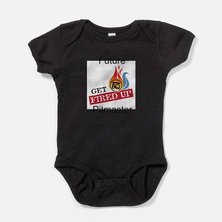 Cute Bbq smoker Baby Bodysuit