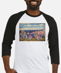 On the Beach by Prendergast Baseball Jersey