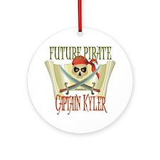 Captain Kyler Ornament (Round)
