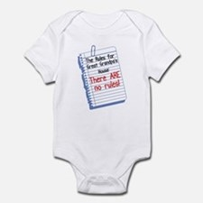 No Rules at Great Grandpa's House Baby Onesie