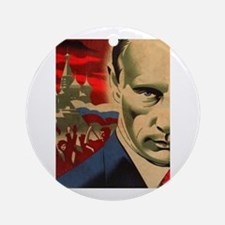 Vladimir Putin Round Ornament