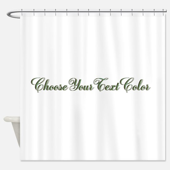 Cute Gray and white Shower Curtain