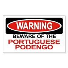 PORTUGUESE PODENGO Rectangle Decal