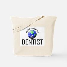 World's Greatest DENTIST Tote Bag