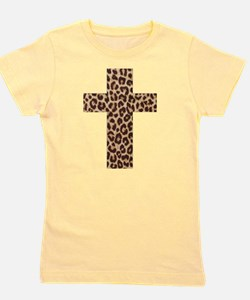 Cute Leopard Girl's Tee
