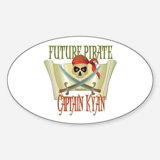 Captain Kyan Oval Decal