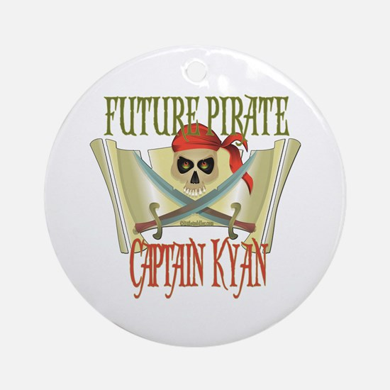 Captain Kyan Ornament (Round)