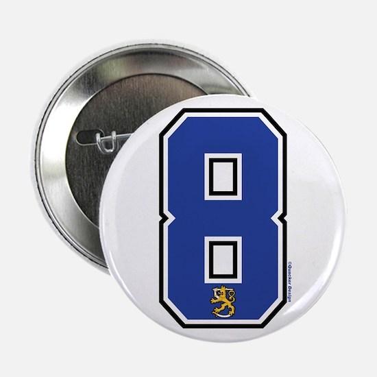 """FI Finland Suomi Hockey 8 2.25"""" Button"""