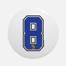 FI Finland Suomi Hockey 8 Ornament (Round)