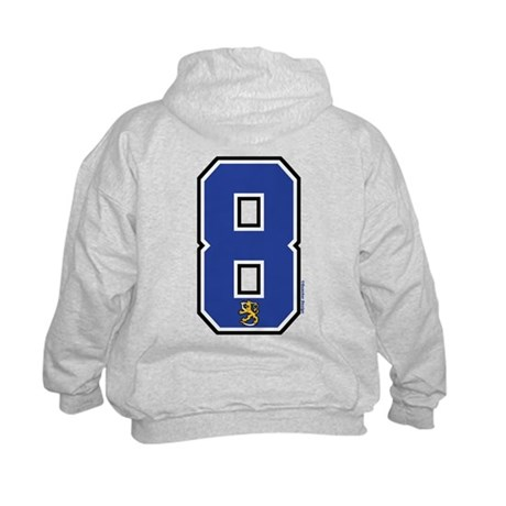 FI Finland Suomi Hockey 8 Kids Sweatshirt