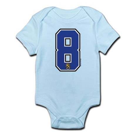 FI Finland Suomi Hockey 8 Infant Bodysuit
