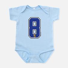 FI Finland Suomi Hockey 8 Infant Bodysuit