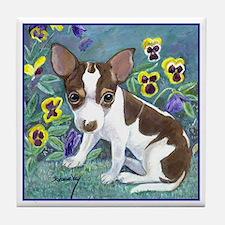 Chihuahua Moo Tile Coaster