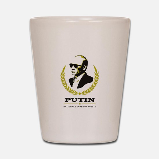 Vladimir Putin Shot Glass