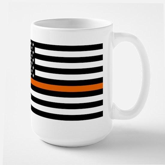 Search & Rescue: Black Flag & Thin Oran Large Mug