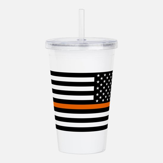 Search & Rescue: Black Acrylic Double-wall Tumbler