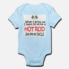 WIGU Hot Rod Uncle Infant Bodysuit