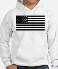 U.S. Flag: Black Flag & The Thin Jumper Hoody