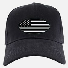 U.S. Flag: Black Flag & The Thin Grey Li Baseball Hat