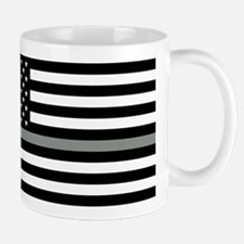 U.S. Flag: Black Flag & The Thin Grey L Mug