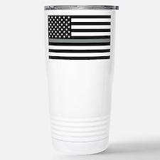 U.S. Flag: Black Flag & Travel Mug