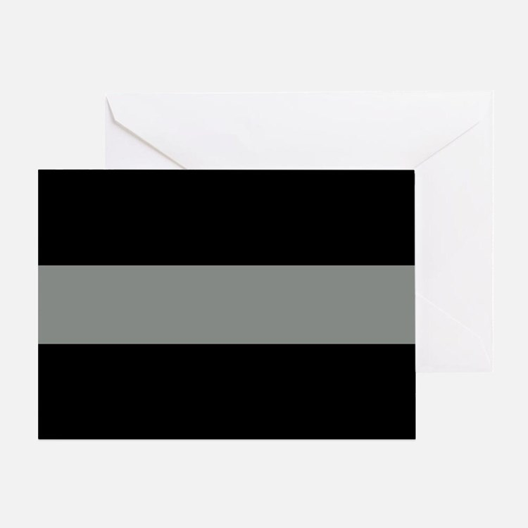 The Thin Grey Line Greeting Card