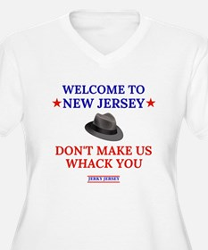 WELCOME TO NJ (light shirts) Plus Size T-Shirt
