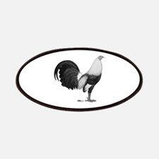 Gamecock Grey Duckwing Rooster Patch