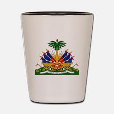 Coat of arms of Haiti - Emblème d'Haïti Shot Glass