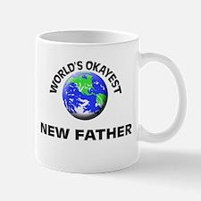 World's Okayest New Father Mugs