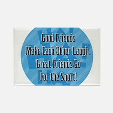 Laugh-Snort Magnets