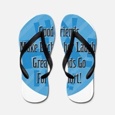 Laugh-Snort Flip Flops