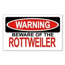ROTTWEILER Rectangle Decal