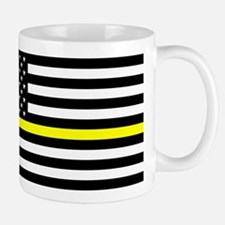 U.S. Flag: Black Flag & The Thin Yellow Mug
