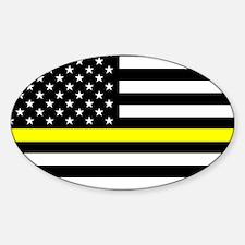 U.S. Flag: Black Flag & The Thin Ye Decal
