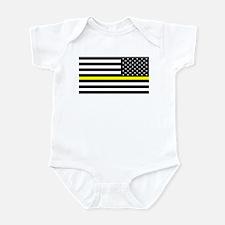U.S. Flag: Black Flag & The Thin Y Infant Bodysuit