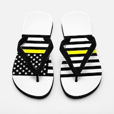 U.S. Flag: Black Flag & The Thin Yellow Flip Flops