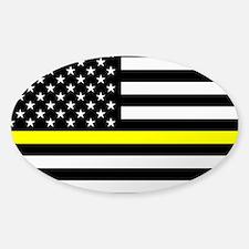U.S. Flag: Black Flag & The T Decal