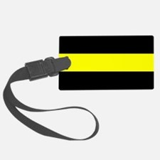 The Thin Yellow Line Luggage Tag