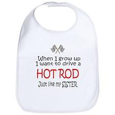 WIGU Hot Rod Sister Bib