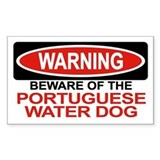 Portuguese water dog Stickers