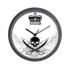 Pirate King Wall Clock