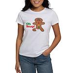 Christmas Gingerbread Oh Snap Women's T-Shirt