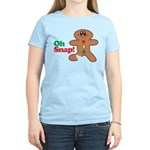 Christmas Gingerbread Oh Snap Women's Light T-Shir