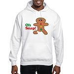 Christmas Gingerbread Oh Snap Hooded Sweatshirt