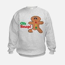 Christmas Gingerbread Oh Snap Sweatshirt