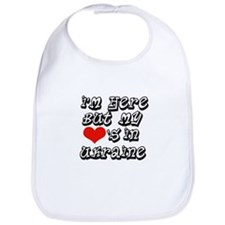 my hearts in Ukraine Bib