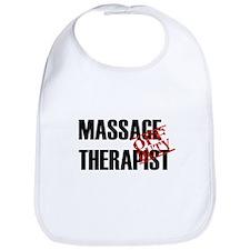 Off Duty Massage Therapist Bib