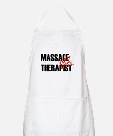 Off Duty Massage Therapist BBQ Apron