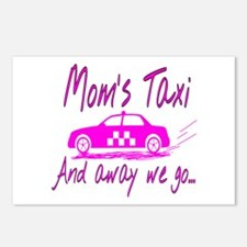 Mom's Taxi Postcards (Package of 8)